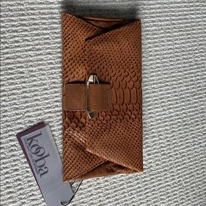 Kooba leather wallet crossbody